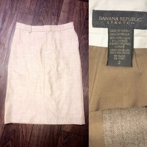 Banana Republic Size 2 Pencil Skirt